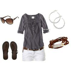 White Shorts Inspiration