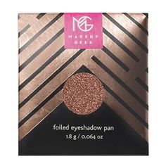 Makeup Geek Foiled Eyeshadow Pan in Grand Stand