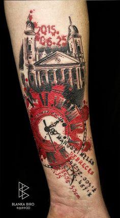 Tattoo art by Blanka Biro