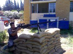 PTRS-41 Anti-Tank rifle (Russia) - 14.5x144mm.