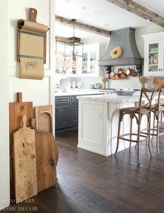 How to Add Fall Decor To A Kitchen