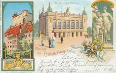 Theater des Westens & Bühnenhaus, Berlin - Kantstr., 1900