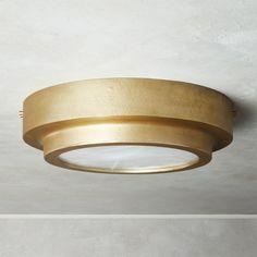 Nina Alabaster Brass Flush Mount Light - All For House İdeas Overhead Lighting, Flush Mount Lighting, Flush Mount Ceiling, Lighting Ideas, Lighting Sale, Home Lighting, Lighting For Low Ceilings, Modern Lighting, Flush Ceiling Lights
