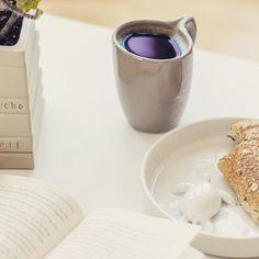 Hola!! Buenos días!! Empecemos este viernes con un café! Taza oval diseño de Arta Cerámica #cafe #mañana #viernes