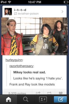 BUT WHAT IF MIKEY NEVER FULLY RECOVERED WHAT IF THATS WHY HE DOESNT SMILE GERARD MADE IT BUT MAYBE MIKEY DIDNT MAYBE MIKEY STILL ISNT OKAY MAYBE HE STILL NEEDS HELP MAYBE HES NOT OKAY
