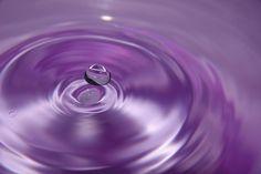 Purple rain, perpetual ripples!