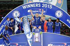 CHELSEA FOOTBALL CLUB: League Cup Winners 2015