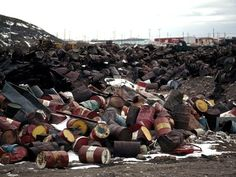 <p>Photo: Pile of spilling oil drums</p> The National Geographic is explaining how toxic waste is affecting us. The waste comes from all over: it comes from manufacturing, farming, city septic systems, construction and car garages just to name a few. This waste can harm humans, animals, and plants.
