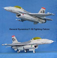 F-16 #flickr #LEGO #plane