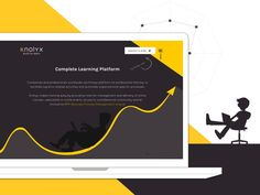 Dribbble Knolyx Homepage by Florentina Sarov