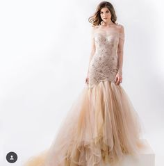 Wedding Dresses Cappuccino, Hochzeit, Trauung, Prinzessin, extravagante Mode Elegant, Tulle, Wedding Dresses, Skirts, Fashion, Environment, Princess, Bridal Gown, Wedding