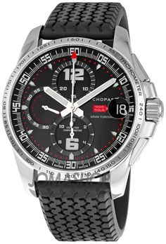 Chopard Mille Miglia GT XL Chrono 2007 Chronograph Mens Watch 16/8459-3001
