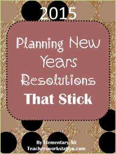"The time is here again for the ""new year, new me"" plans! Being an over ambitious planner, I love making lists and calendars to organize my hopes and goals for a new year. I get pretty nerdy when it..."