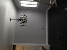 Finally found the perfect gray paint. Benjamin Moore Eternity.