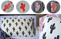 how to make stamps for stamping fabrics and papers Textiles, Diy Arts And Crafts, Diy Crafts, Tutorial Diy, Stamp Carving, Handmade Stamps, Fabric Stamping, Ideias Diy, Diy Pillows