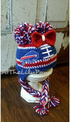 56d113646 Buffalo Bills Hat Buffalo Bills Baby Buffalo by AtTheLilyPond