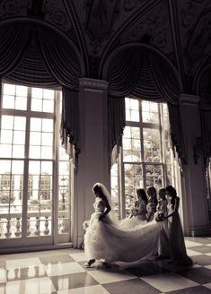 Cute bridesmaid picture.