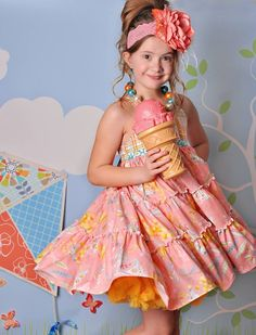 LADY MARMALADE CHLOE TRIPLE TIERED DRESS http://jkheirloom.bigcartel.com/product/lady-marmalade-chloe-tipple-tiered-dress