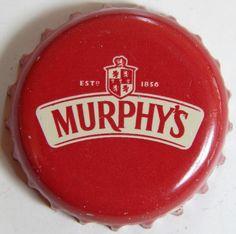 Murphy's Irish Red Bottle Caps, Ketchup, Lana Del Rey, Irish, Sheet Metal, Ale, Irish People, Irish Language, Ireland