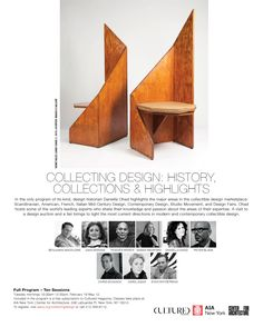 Collecting Design with Dr. Daniella Ohad: Spring 2020 (Session - Calendar - AIA New York / Center for Architecture Educational Programs, Calendar, York, Architecture, Spring, Collection, Design, Home Decor, Arquitetura