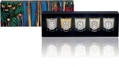 Diptyque Boxed Set of 5 Candles - $75
