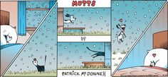 snow - Mutts by Patrick McDonnell. December 10, 2017