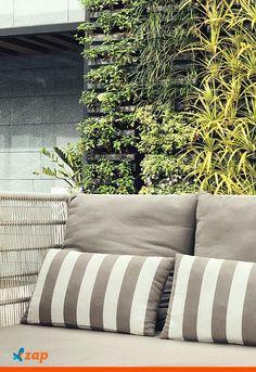 O jardim vertical dá vida em qualquer ambiente. Saiba como ter o seu: