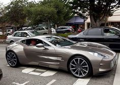 Grey Aston Martin. Luxury, amazing, fast, dream, beautiful,awesome, expensive, exclusive car #Luxury #Fast #Expensive