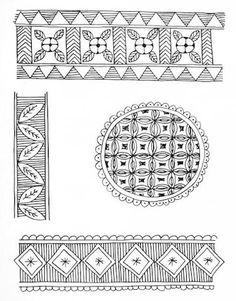 Indian Painting Styles...Madhubani/Mithila Painting (Bihar)-madhubani-motifs1-2-.jpg