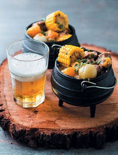 A classic dish, our lamb and veg potjie is simply delicous. A classic dish, our lamb and veg potjie is simply delicous. Pub Food, Cafe Food, Kreative Snacks, Good Food, Yummy Food, South African Recipes, South African Food, Food Platters, Food Presentation