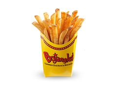 Bojangles French Fry Seasoning Recipe  This is the recipe we used at Bojangles (fast food chicken place in SC) for our fries:   1 Tbls Cayenne Pepper  1 Tbls Black Pepper  1 Tbls White Pepper  1 Tbls Salt   Mix thoroughly and sprinkle liberally on fries. Enjoy.