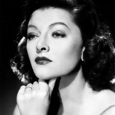 """""""""""I don't know any other actress who has the wit that Myrna Loy has, the kind of wit that amuses me—underplayed, suggested, very, very subtle. The whole…"""""""