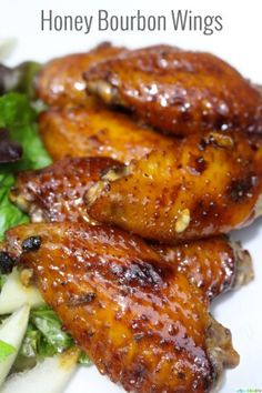 Honey Bourbon Wings Recipe |