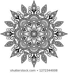 Mandala pattern black and white doodles sketch good mood Motif Mandala griffonnages noir et blanc es Mandala Doodle, Mandala Art, Croquis Mandala, Mandala Drawing, Mandala Painting, Flower Mandala, Mandala Sketch, Mandala Design, Mandala Pattern
