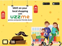 Concerned over budget constraints? Shop at your convenience with Uzzme App amazing deals and promos that lets you save for your future.