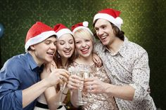 A list of Christmas party games for adults that will make your party the talk of the town. Includes small and large group holiday party games.
