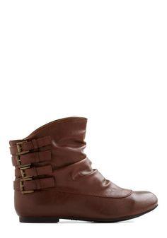 Buckle Buccaneer Bootie | Mod Retro Vintage Boots | ModCloth.com