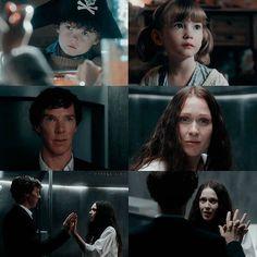 "Sherlock and Eurus. Sherlock S04 EP03 ""The Final Problem"". Season 4. Episode 3."