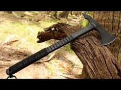 NEW! Schrade SCAXE4 Tomahawk -- Best Tomahawk Win one by liking, sharing, subscribing to Schrade's Youtube!!