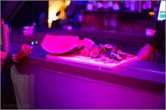 Watermelon Martini preparation - Beauty Night Party – Eclipse Bar at W Barcelona, Spain