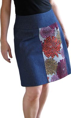 Panelled skirt - You SEW Girl
