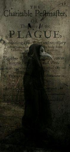 Uniforme médico na época peste negra
