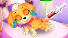ЩЕНЯЧИЙ ПАТРУЛЬ Милый щенок СКАЙ В ванной В парке У доктора Наряды #Муль...