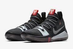 bfb066a5fc1b Nike Kobe AD 2018 New Colorway Release Date Kobe Bryant black white grey  silver gray gunmetal infrared red orange