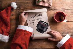 Come ogni anno mi ritrovo a scrivere la letterina a Babbo Natale nella speranza che accontenti le mie richieste fotografiche, spesso troppo esigenti!