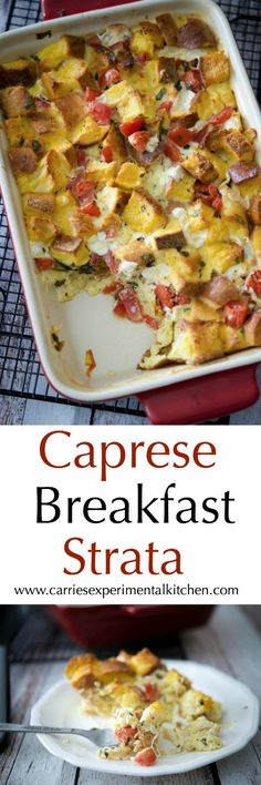 Caprese Breakfast St