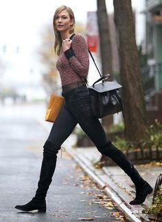 karlie kloss mansur gavriel lady bag - Google Search