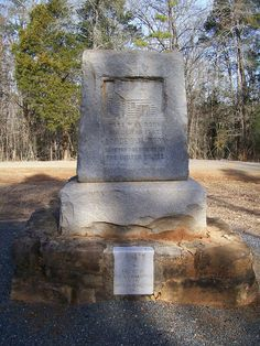 Take a drive down into the countryside of Waxhaw, NC on Rehobeth Road (watch for the hard right if coming from town side).  Watch for sign pointing to marker (you will turn onto gravel road at Mt. Zion Baptist Church) - follow down to end to view the marker for Andrew Jackson's birthplace.