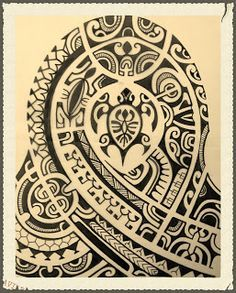 polynesian tattoo and art