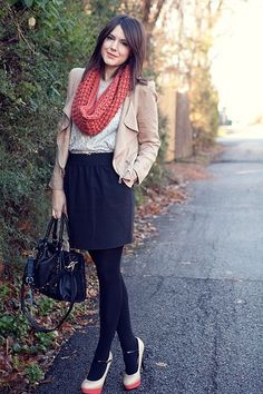 Are you looking for the perfect fall #outfit for work? This list of 30 stylish combinations is a great place to start!